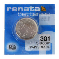 Watch Battery Renata 301 Replacement Cells Each