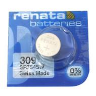 Watch Battery Renata 309 Replacement Cells Each