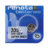 Watch Battery Renata 335 Replacement Cells Each