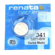 Watch Battery Renata 341 Replacement Cells Each