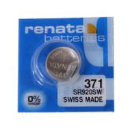 Watch Battery Renata 371 Replacement Cells Each