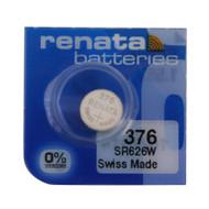 Watch Battery Renata 376 Replacement Cells Each
