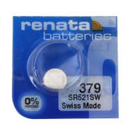 Watch Battery Renata 379 Replacement Cells Each