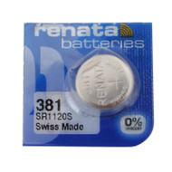 Watch Battery Renata 381 Replacement Cells Each