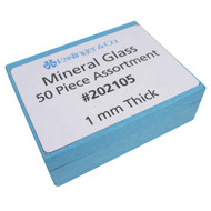 Watch Crystal Flat Mineral Glass Watch Crystal Assortment 1.0 mm Thick