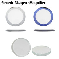 Watch Crystal Imitation Skagen® Magnifier Mineral Glass Watch Crystal Clear or with Trim