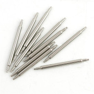 Watch Parts 1.50 mm Thin Steel Double Shoulder Spring Bars Packs of 10 Pieces