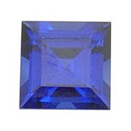 Square Lab Created Sapphire