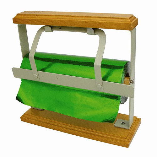 Gift wrap cutter stand