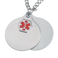 Stainless Steel Medical Pendant