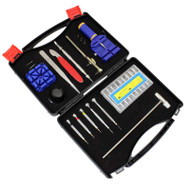 13 Piece Watch Repair Tool Kit in Hard Plastic Case