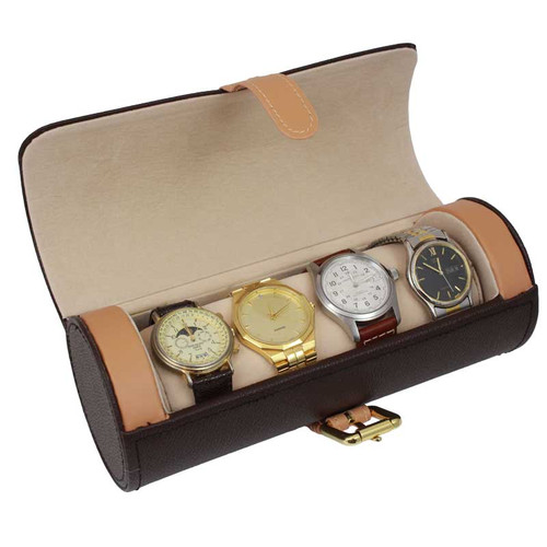 Travel Case Watch And Storage Roll