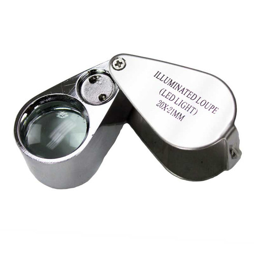 20X Jeweler's Loupe with LED Light