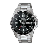 Casio® Sports Watch Stainless Steel with Day/Date Display