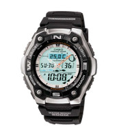 Casio® AQW101-1AV Sports Gear Analog Digital Sports Watch