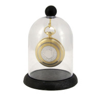 Top Hook Pocket Watch Plastic Dome with Base
