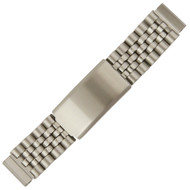 Southwest Style Stainless Steel Watch Band Extender Links with Tri-Fold Clasp
