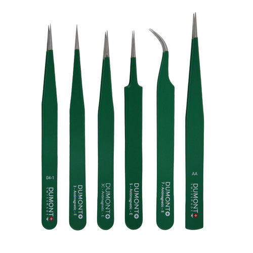 Dumont Anti-Magnetic Stainless Steel Epoxy Coated Tweezers
