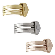 Generic Made to Fit Deployant Clasps For Tag Heuer® Style Watch Bands