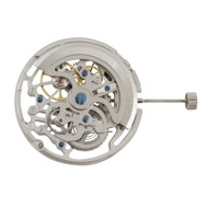 Chinese Automatic 3 Hand Mechanical Watch Movement TY2809 Overall Height 8.0mm
