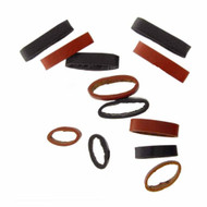 Leather Loops Watch Strap Keepers 12 Piece Assortment