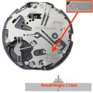 Genuine Seiko 6 Hand Quartz Chronograph Watch Movement 6T63 Height 7.1mm