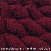 Red Giant a strong red but not too bright. color C in the Red Shift tonal series. Semi-solid.