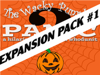 Expansion pack for a fun family Halloween mystery party
