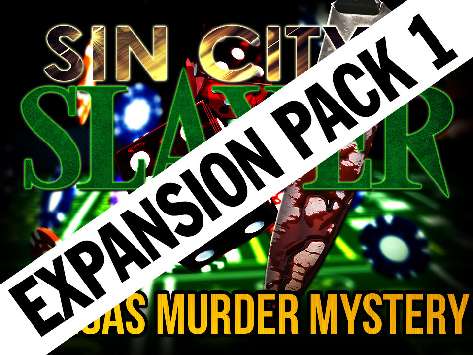 Sin City Slayer Expansion pack #1 | a murder mystery party