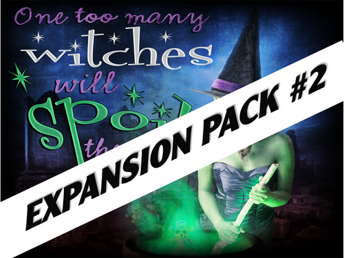 Witch mystery party expansion pack #2