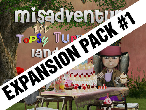 Topsy Turvy mystery party expansion pack