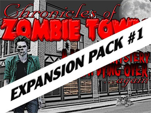 Zombie town murder mystery expansion pack