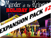 Kringels murder mystery game expansion pack #2