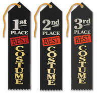 Three pack of costume award ribbons for costume contests