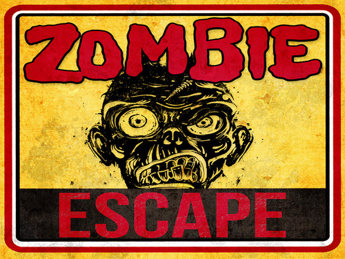 Zombie Escape mystery party game by My Mystery Party