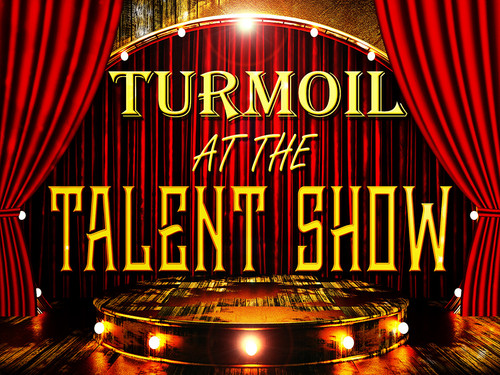 Turmoil at the Talent Show | a mystery party for teens.