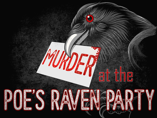 Murder at the Poe's Raven Party - a Gothic dinner murder mystery party.