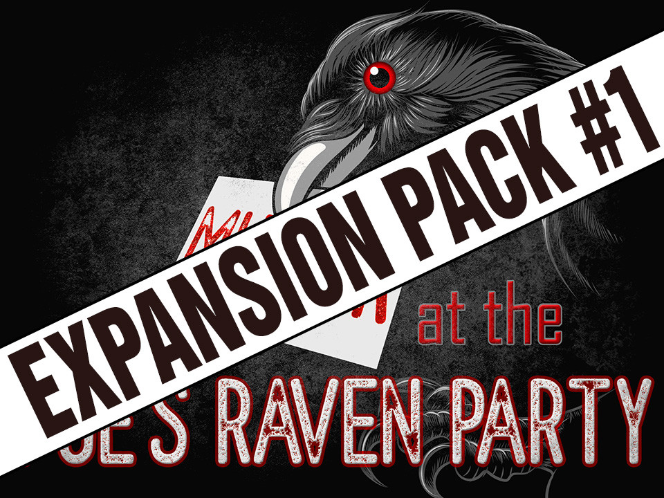 Murder at the Poe's Raven Party expansion pack #1