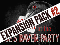 Murder at Poe's Raven party expansion pack #2
