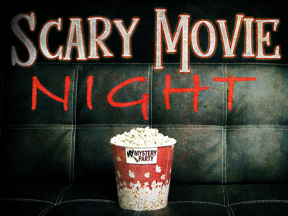 Scary Movie Night - a mystery party boxed set for teens/tweens.