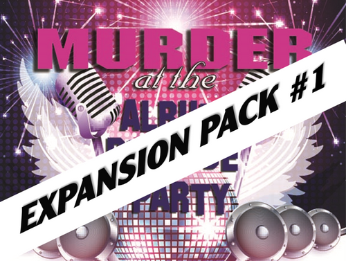 Album release mystery party expansion pack #1