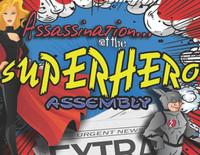 Superhero Assassination boxed set mystery party