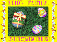Eggstra scavenger hunt game