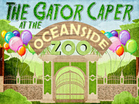 Garry Gator mystery party for kids