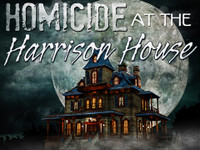 Homicide at the Harrison House mystery party