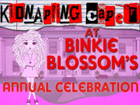 Binkie Blossom's mystery party game for tweens