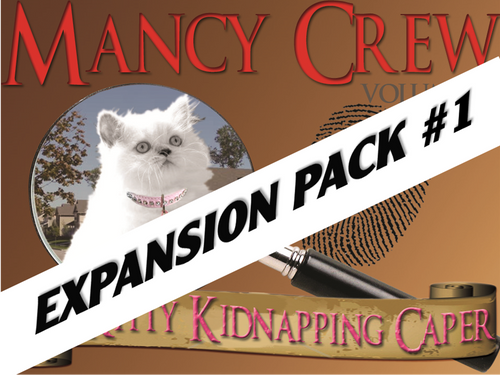 Expansion pack #1 for Kitty Kidnapping mystery party for tweens