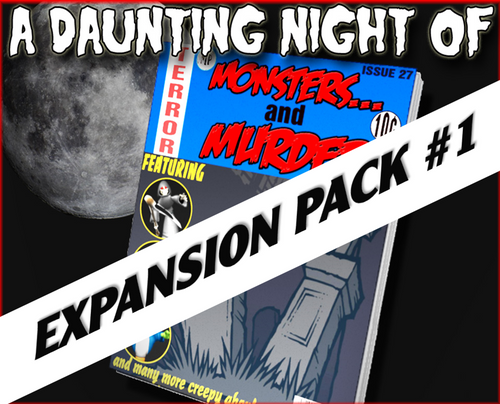 Monster murder mystery party expansion pack #1
