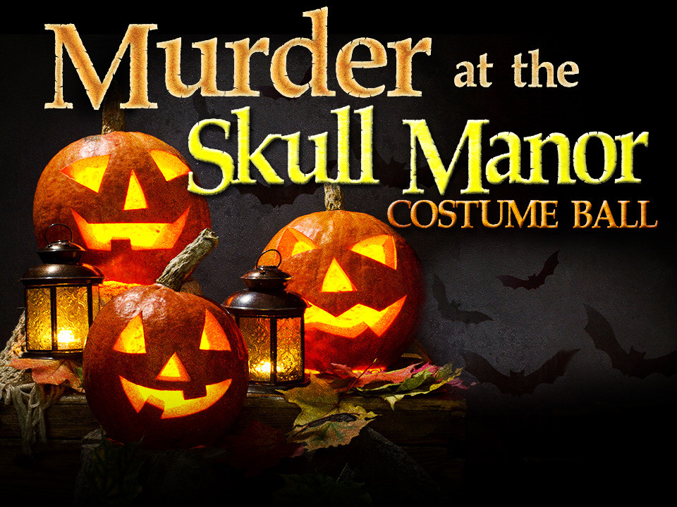 Murder at the Skull Manor mystery party game