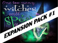 Witch mystery party expansion pack #1
